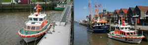 Seenotrettungsboot Neuharlingersiel