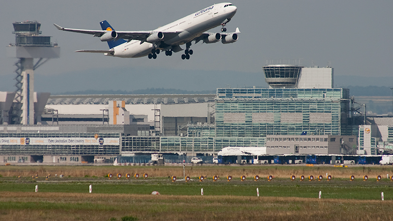Planespotting in Frankfurt am Main