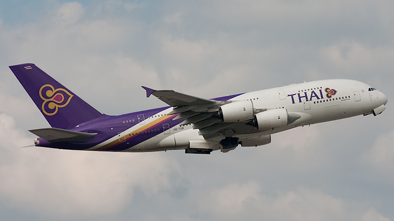 Thai Airways // Airbus A380-841 // HS-TUB