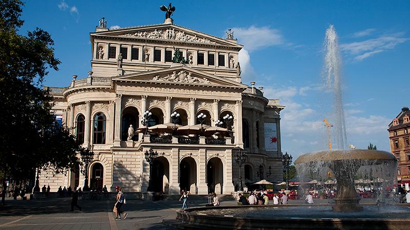 Alte Oper und Opernbrunnen