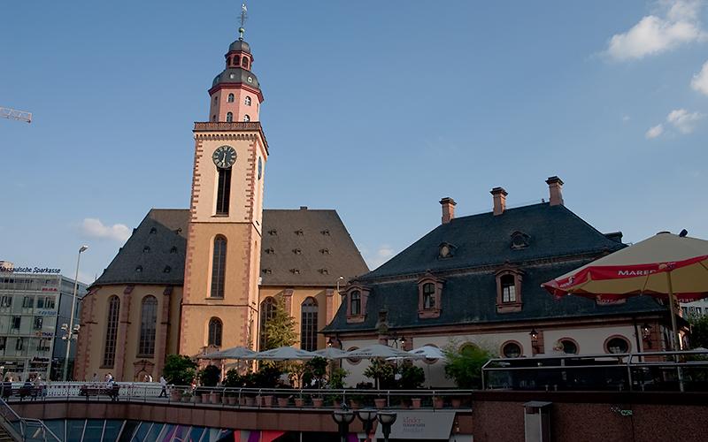 Katharinenkirche an der Hauptwache