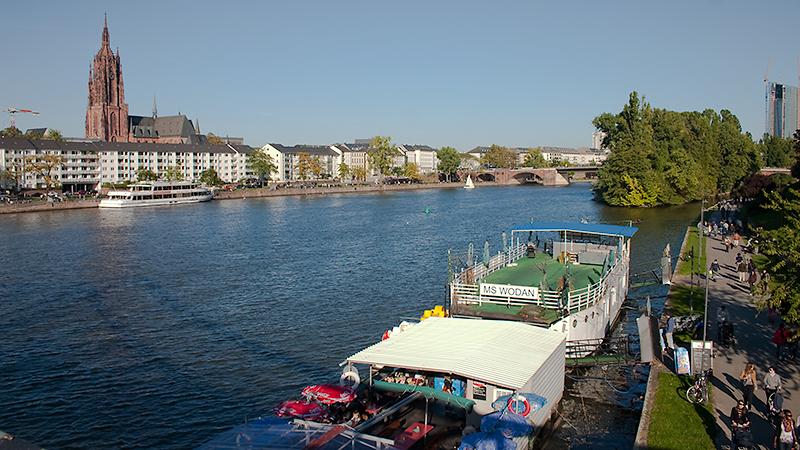 Sonniges Frankfurt am Main