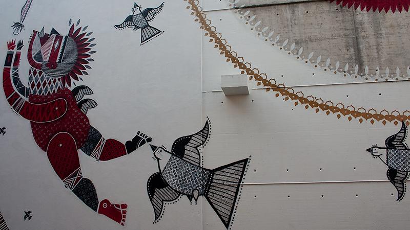 Brasilianische Streetart von Jana Joane & Vitché