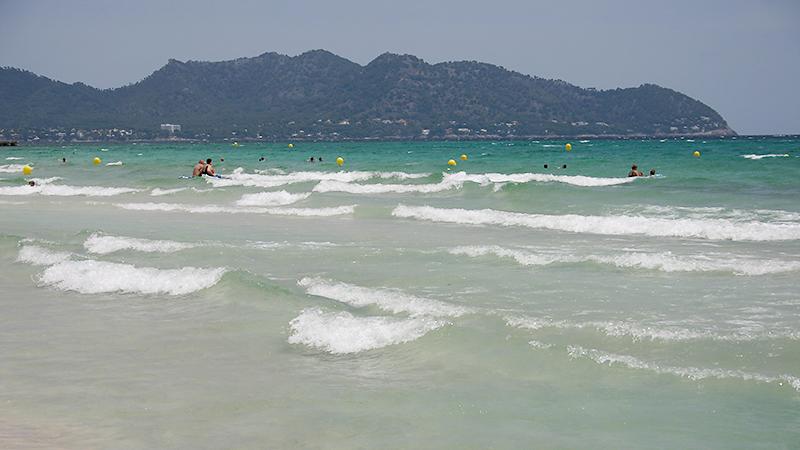 Die letzten Wellen des Urlaubs...