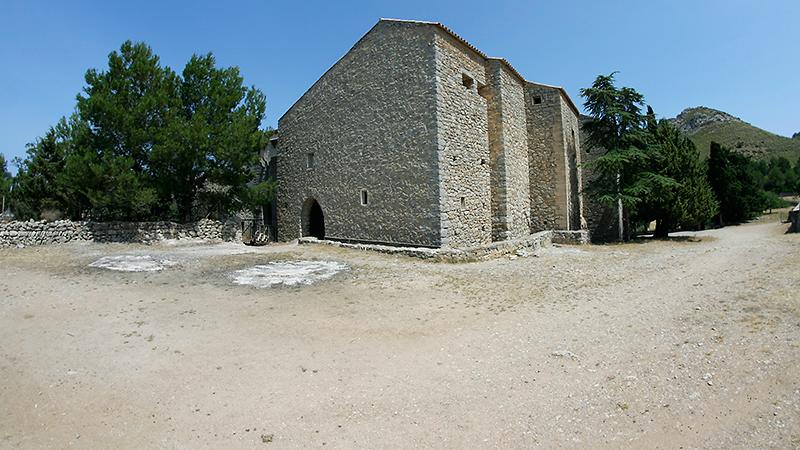 Rückseite der Ermita de Betlem