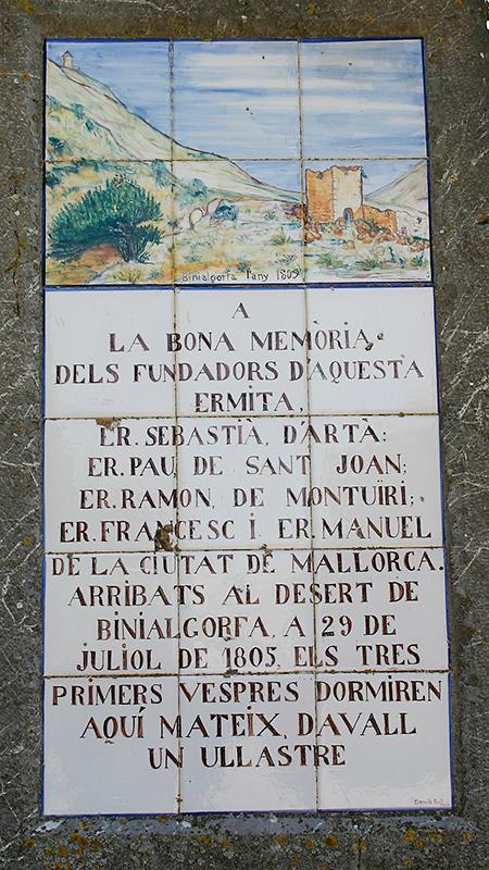 Spanische Inschriften