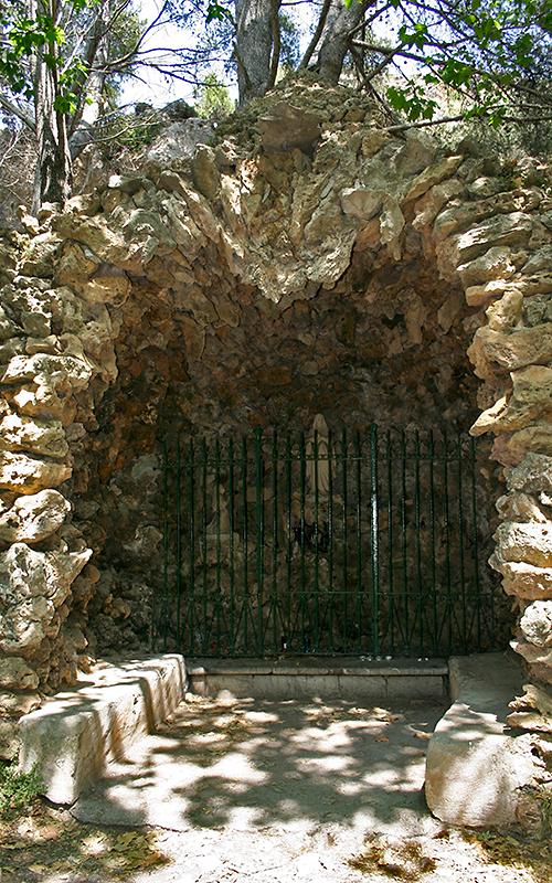 Lourdesgrotte bei der Ermita de Betlem