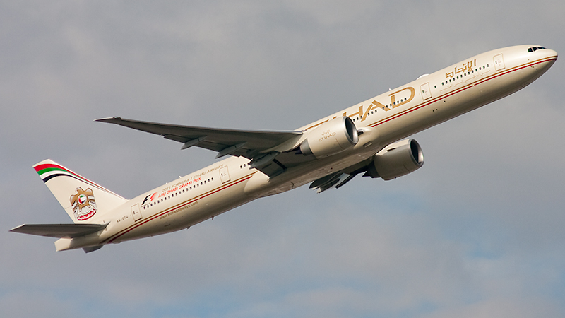 Etihad Airways // A6-ETO // Boeing 777-3FX(ER)