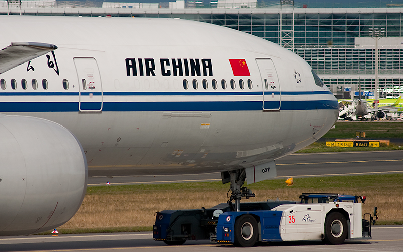 Air China // B-2037 // 777-39L(ER)