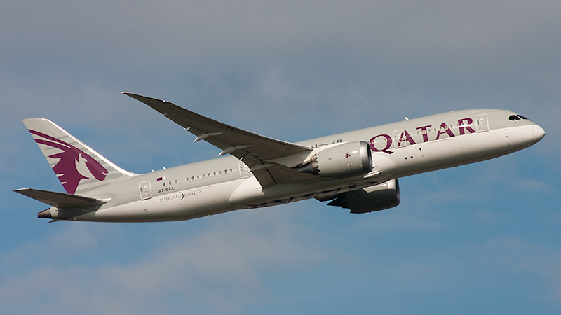Qatar Airways // A7-BCL // Boeing 787-8 Dreamliner