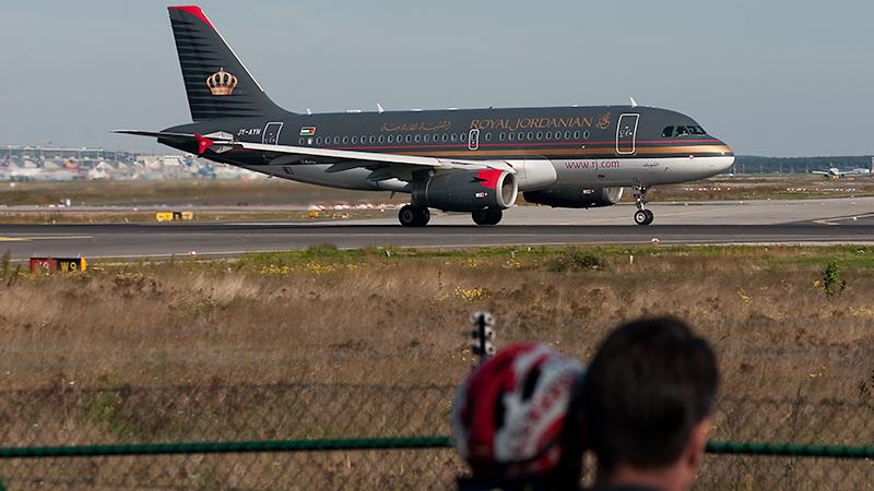 Royal Jordanian // JY-AYN // Airbus A319-132