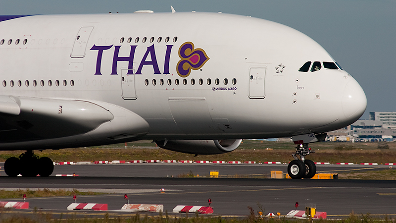 Thai Airways International // HS-TUC // Airbus A380-841