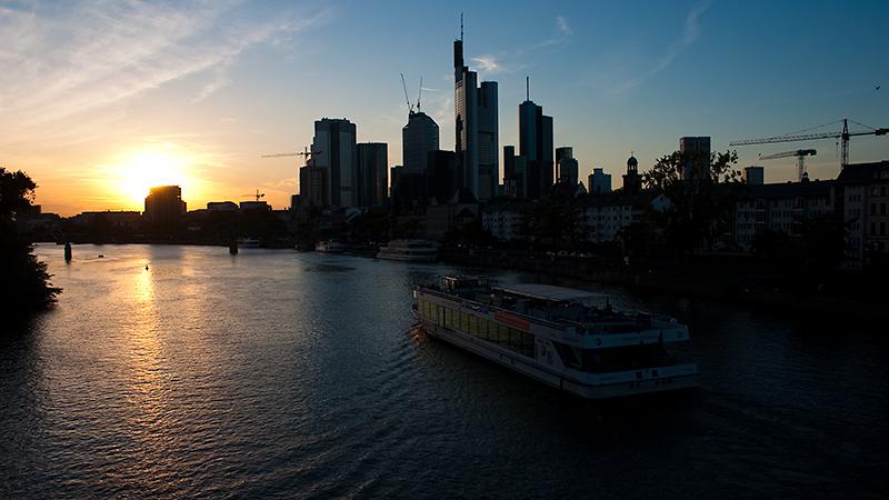 Dem Sonnenuntergang entgegen...