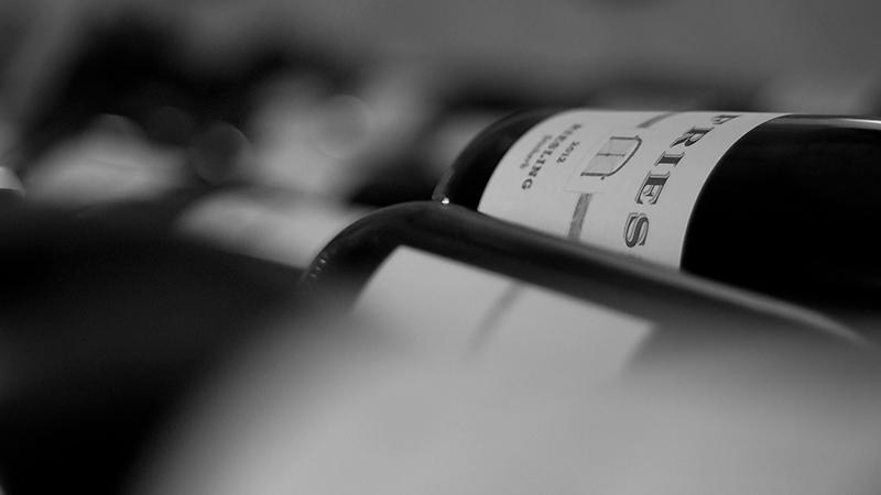 Bereits fertig abgefüllter Wein