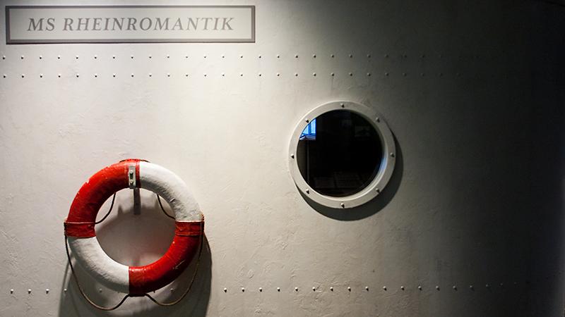 "An Bord der ""MS Rheinromantik"" im Forum Confluentes"
