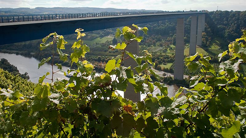 Moseltalbrücke an der A61