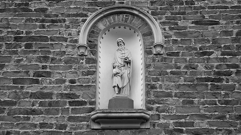 Kirchenwand