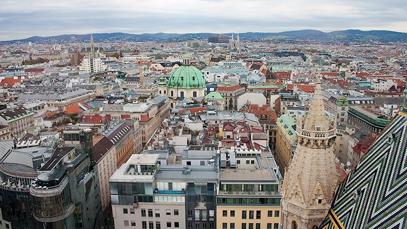 Wien lag mir zu Füßen