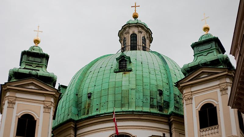 Drei Kreuze... - die Peterskirche