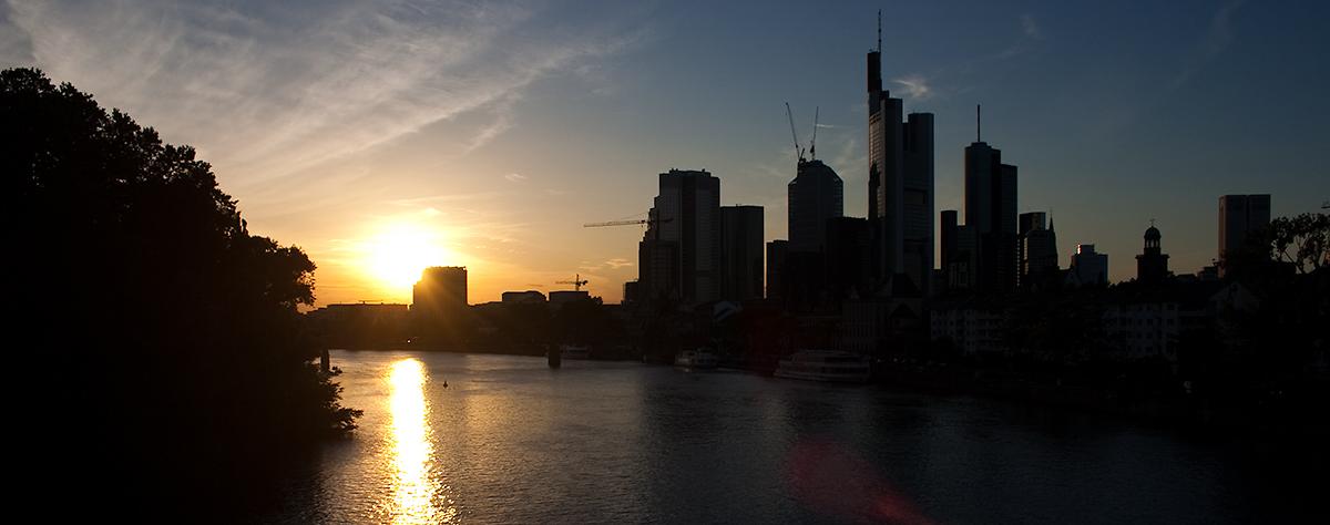 Vorschaubild Sonnenuntergang Frankfurt am Main