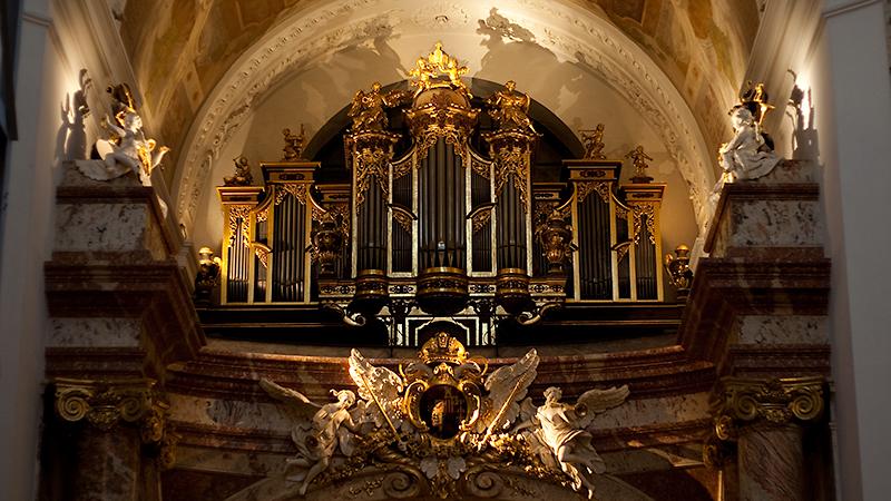 Musikalisches Highlight: die Orgel