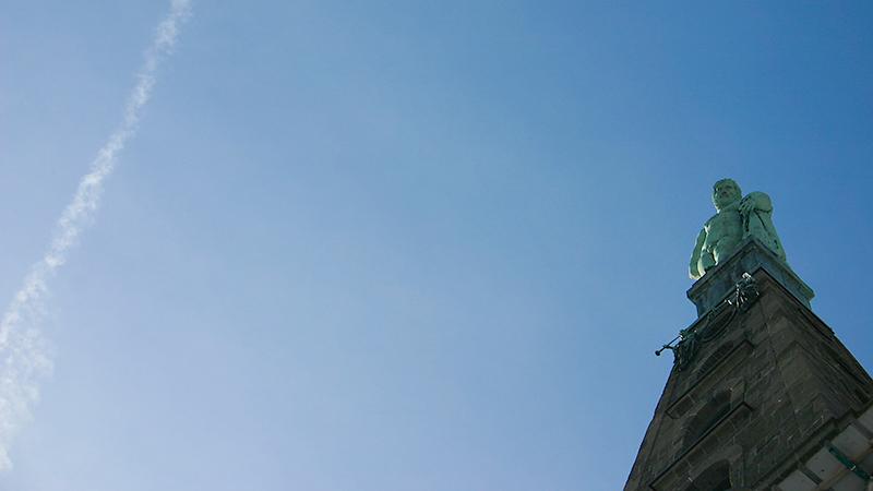 Unterm blauen Himmelszelt - der Herkules
