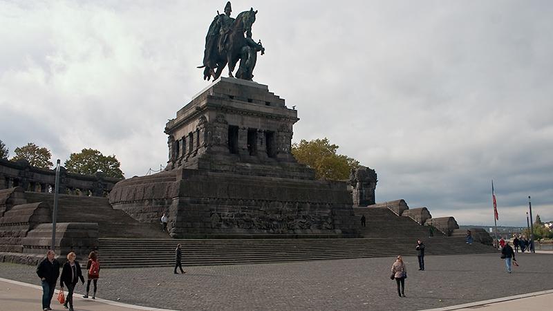 Imposant: Kaiser-Wilhelm-Denkmal