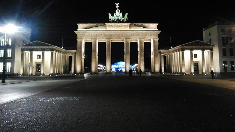Das Brandenburger Tor...