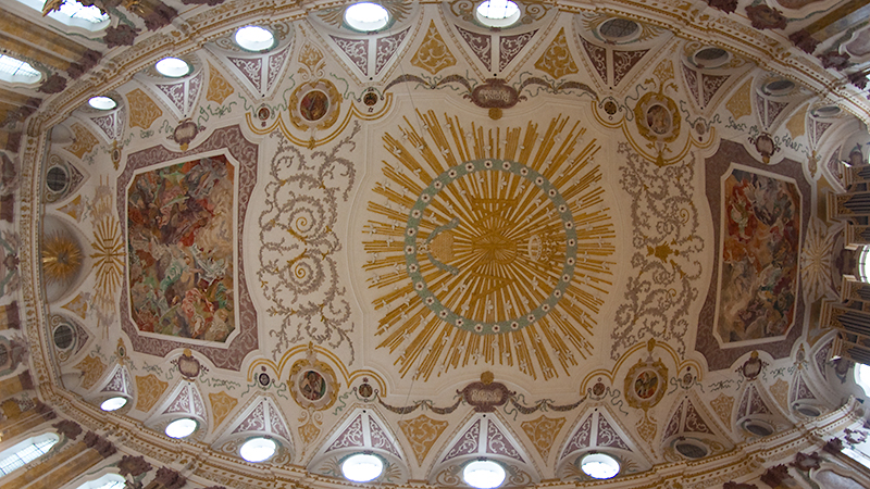Deckenansicht Bürgersaalkirche