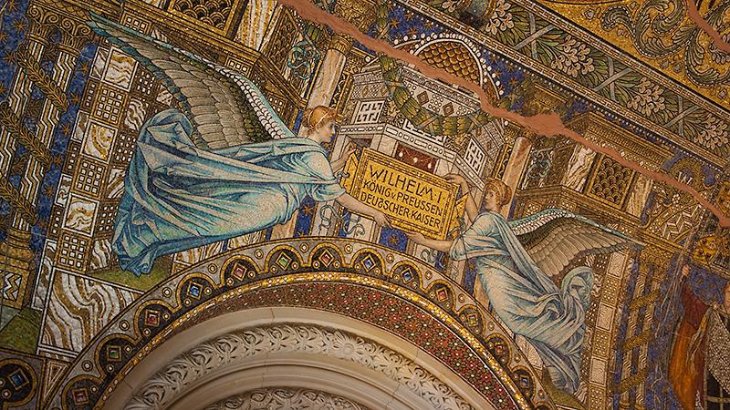 Aufwändiges Mosaik