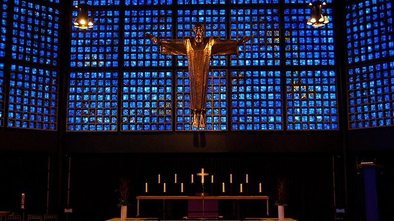 Altar der Kaiser Wilhelm Gedächtniskirche