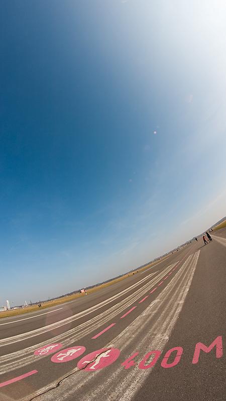 400/1840 Metern geschafft