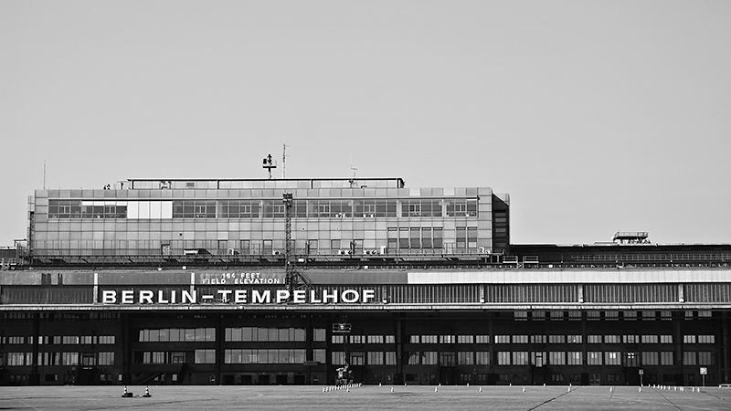 Abfluggebäude Tempelhof