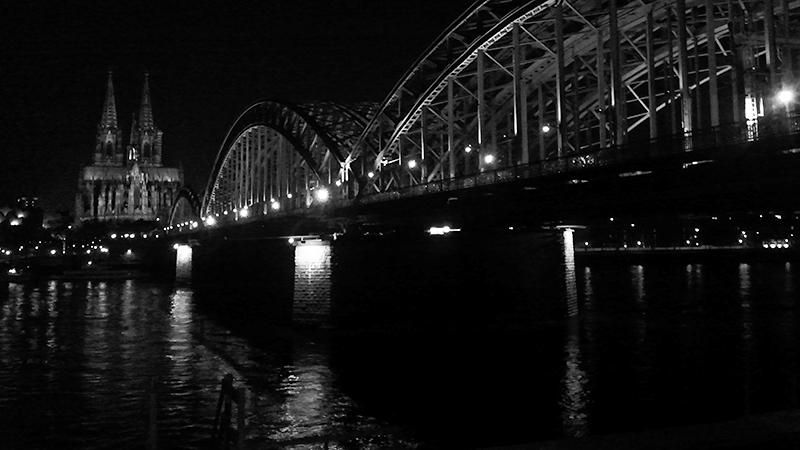 Kölner Klassik: Hohenzollernbrücke und Dom