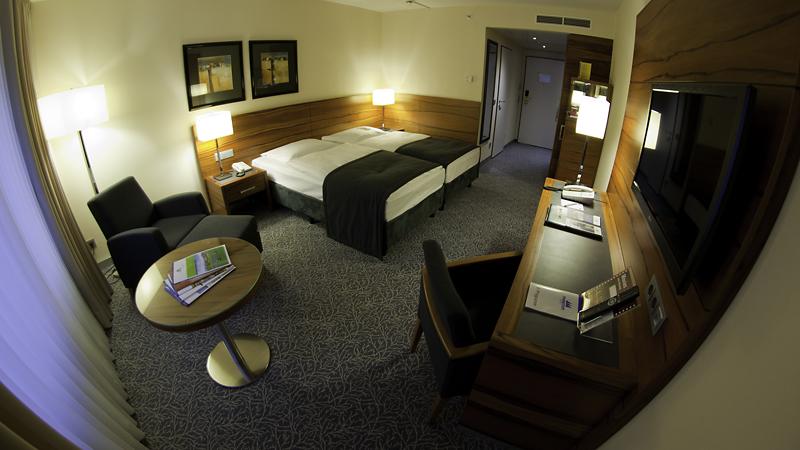 Doppelzimmer im Maritim Hotel München