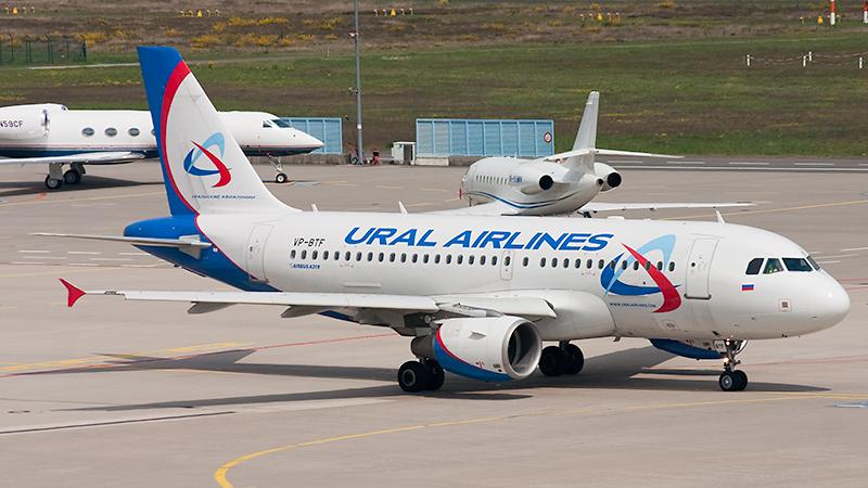 VP-BTF (Airbus A319-112) der Ural Airlines