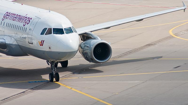 D-AGWI (Airbus A319-100) nach der Landung