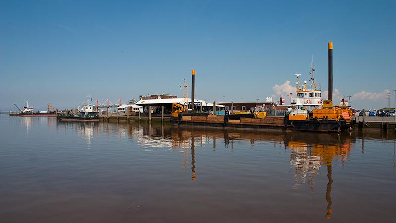 Ruhe im Hafen von Harlesiel