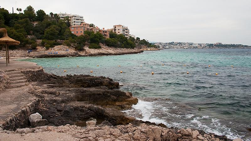 Am Strand von Illetes