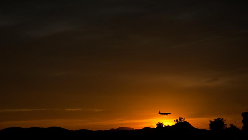 Sonnenuntergang an der Cala Estància
