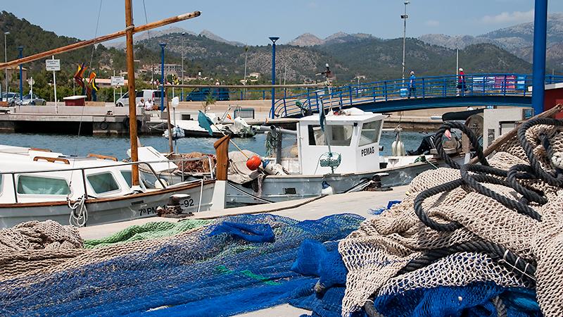 Als Fischereihafen begonnen: Port d'Antratx