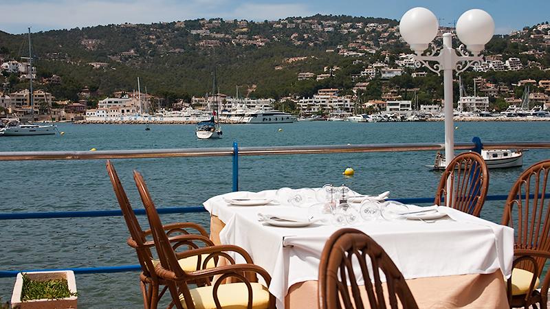 Restaurant direkt am Wasser