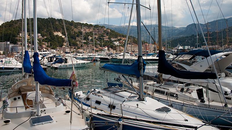 Port de Sóller - Berge und Meer