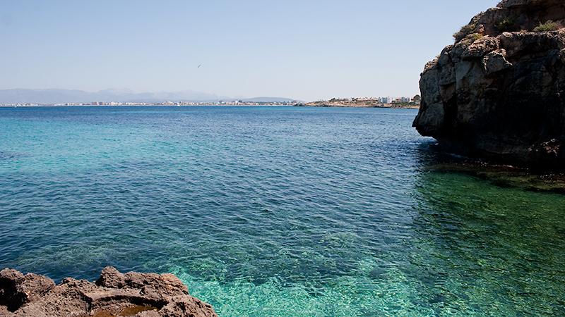 Blick auf die Playa de Palma