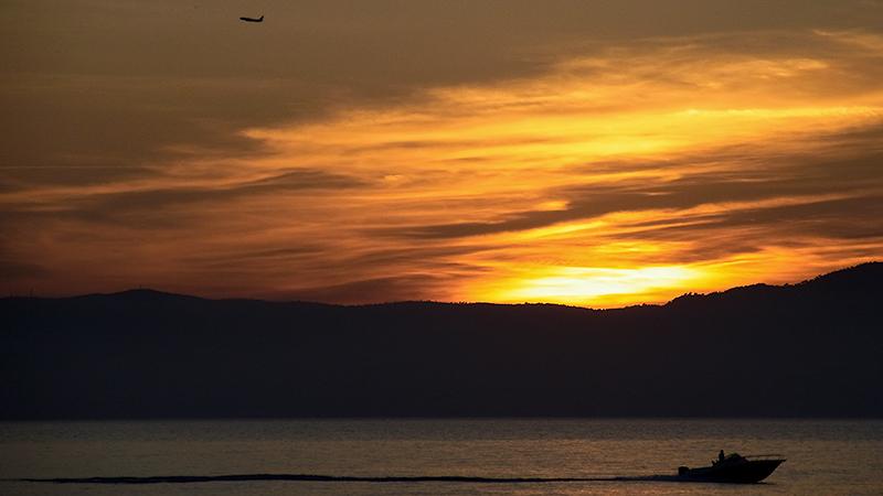 Abendstimmung in der Bucht von Palma