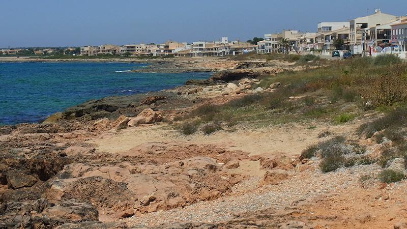 Küste von Sa Rapita