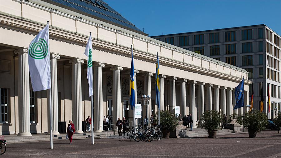 Kongresszentrum mit 20.000 Quadratmetern Ausstellungsfläche