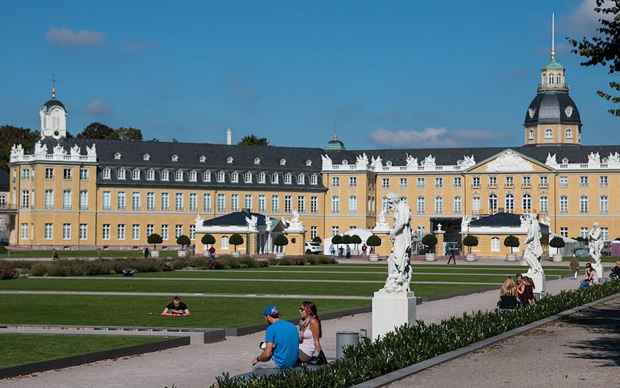 Ostseite des Schlossgartens