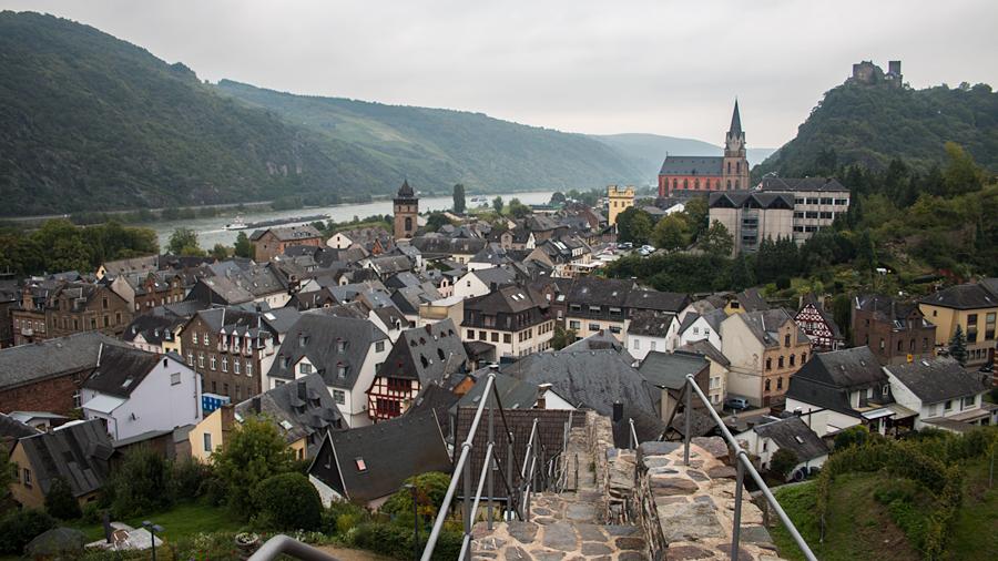 Roter Turm/Haagsturm, Gelber Turm/Villa Nova, Liebfrauenkirche und Schönburg