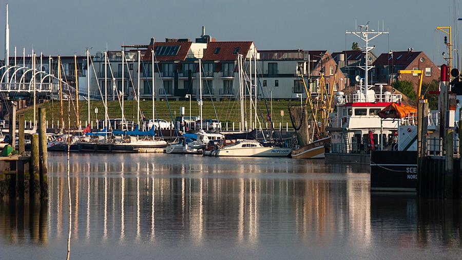 ...Blick in den Hafen